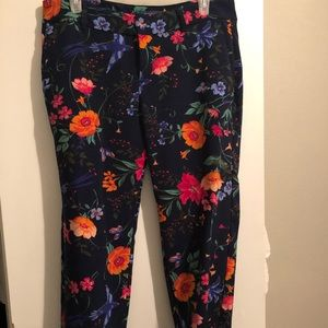 Old Navy Harper midrise patterned trouser pants